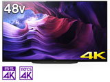 有機ELテレビ BRAVIA  KJ-48A9S [48V型 /4K対応 /BS・CS 4Kチューナー内蔵 /YouTube対応] 【買い替え5000pt】