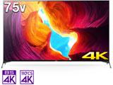液晶テレビ BRAVIA  KJ-75X9500H [75V型 /4K対応 /BS・CS 4Kチューナー内蔵 /YouTube対応] 【買い替え20000pt】