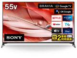 液晶テレビ BRAVIA(ブラビア)  XRJ-55X90J [55V型 /4K対応 /BS・CS 4Kチューナー内蔵 /YouTube対応 /Bluetooth対応] 【買い替え5000pt】