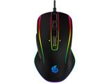 ゲーミングマウス RACEN ブラック CRC-GMRGB01 [IR LED /6ボタン /USB /有線]