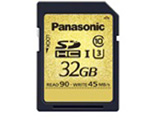 RP-SDUC32GJK SDHC メモリーカード(32GB/UHS-I/Class10/最大転送速度90MB/秒) 【SDカード】