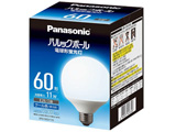 電球形蛍光灯 「パルックボール」(電球60WタイプG形・クール色・口金E26) EFG15ED11E