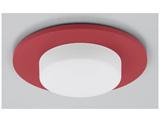 LED電球 デコルミナ(ボール電球形 全光束750lm/電球色・口金E26) ピュアレッド LDF8L/BU/001Rダウンライト用縦取付けタイプ《装飾パネル付き セット》