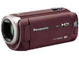 SD対応 64GBメモリー内蔵フルハイビジョンビデオカメラ(ブラウン) HC-W585M-T