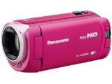 【在庫限り】 SD対応 64GBメモリー内蔵フルハイビジョンビデオカメラ(ピンク) HC-W585M-P