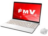 ノートPC LIFEBOOK AH77/C2 FMVA77C2W プレミアムホワイト [Win10 Home・Core i7・15.6インチ・SSD 128GB]