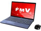 ノートPC LIFEBOOK AH77/C2 FMVA77C2L メタリックブルー [Win10 Home・Core i7・15.6インチ・SSD 128GB]
