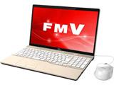 ノートPC LIFEBOOK AH45/C2 FMVA45C2G シャンパンゴールド [Win10 Home・Core i3・15.6インチ・HDD 1TB・メモリ 4GB]