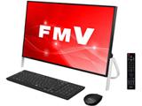 デスクトップPC ESPRIMO FH77/C2 FMVF77C2B ブラック [Win10 Home・Core i7・Office付き・23.8インチ・HDD 1TB・メモリ 8GB]