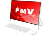 デスクトップPC ESPRIMO FH70/C2 FMVF70C2W ホワイト [Win10 Home・Core i7・Office付き・23.8インチ・HDD 1TB・メモリ 4GB]