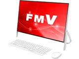 デスクトップPC ESPRIMO FH52/C2 FMVF52C2W ホワイト [Win10 Home・Celeron・Office付き・23.8インチ・HDD 1TB・メモリ 4GB]