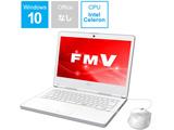 FMVL35C2W ノートパソコン LIFEBOOK(ライフブック) アーバンホワイト [14.0型 /intel Celeron /SSD:128GB /メモリ:4GB /2018年6月モデル]
