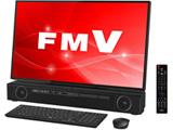 デスクトップPC ESPRIMO FH90/C3 FMVF90C3B ブラック [Win10 Home・Core i7・27インチ・Office付き・HDD 3TB]