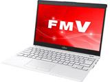 モバイルノートPC LIFEBOOK UH55/C3 FMVU55C3LB ホワイトwithネイビー [Win10 Home・Core i3・13.3インチ・Office付き]