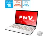 ノートPC LIFEBOOK AH52/C2 FMVA52C2WB プレミアムホワイト [Core i5・15.6インチ・Office付き]