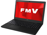 ノートPC LIFEBOOK AH43/D1 FMVA43D1BP シャイニーブラック [Ryzen 3・15.6インチ・Office付き・SSD 256GB]