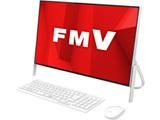デスクトップPC ESPRIMO FH52/D1 FMVF52D1W ホワイト [Celeron・23.8インチ・Office付き・HDD 1TB・メモリ 4GB]