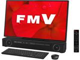 FMVF90D2B デスクトップパソコン ESPRIMO FH90/D2 オーシャンブラック [27型 /HDD:3TB /Optane:16GB /メモリ:8GB /2019年夏モデル]