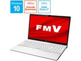 ノートPC FMV LIFEBOOK AH50/D3 FMVA50D3WP プレミアムホワイト [Core i7・15.6インチ・Office付き・SSD 256GB・メモリ 4GB]