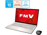 ノートPC LIFEBOOK NH78/D2 FMVN78D2GB シャンパンゴールド [Core i7・17.3インチ・Office付き・SSD 512GB・メモリ 8GB]