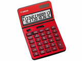 ビジネス電卓 「新・ビジネス向け電卓」(12桁) KS-1220TU-RD (レッド)