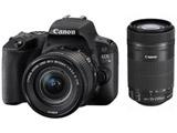 EOS Kiss X9 ダブルズームキット ブラック [キヤノンEFマウント(APS-C)] デジタル一眼レフカメラ