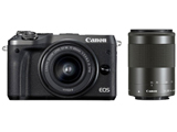 EOS M6 ダブルズームキット ブラック [キヤノンEF-Mマウント] ミラーレス一眼カメラ