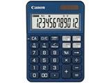 カラフル電卓(12桁) ミニ卓上 KS-125WUC-BL 【軽減税率対応】