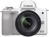 EOS Kiss M EF-M18-150 IS STM レンズキット ホワイト [キヤノンEF-Mマウント] ミラーレス一眼カメラ