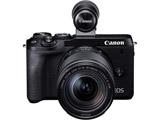 EOS M6 Mark II・EF-M18-150 IS STM レンズ EVFキット ブラック [キヤノンEF-Mマウント] ミラーレスカメラ
