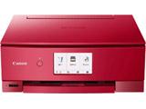 【08/06発売予定】 インクジェット複合機 TS8430 RED   [カード/名刺〜A4] ※発売日以降お届け