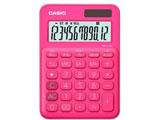 カラフル電卓(12桁) MW-C20C-RD-N ビビッドピンク