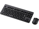 TK-FDM105MBK 無線コンパクトキーボード マウス付 [メンブレン式/ブラック]