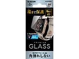 Apple Watch 44mm用フルカバーガラスフィルム/フレーム付き AW-44FLGFRBK