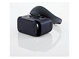 VRゴーグル ハードバンド ブルーライトカットレンズ ブラック VRG-GVSB01BK