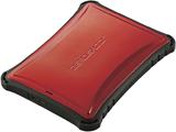 ESD-ZSA0500GRD 外付けSSD PS5対応 USB-A接続 レッド [ポータブル型 /500GB]