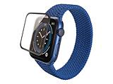 ELECOM(エレコム) Apple Watch 40mm フルカバーフィルム ガラス フレーム付キ ブラック   AW-20SFLGFRBK