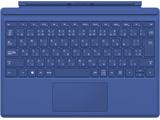 Surface Pro 4 タイプ カバー QC7-00072 [ブルー]