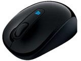 43U-00037 Sculpt Mobile Mouse(BlueLED/ワイヤレスマウス/2.4GHz/USB/3ボタン/ブラック) [無線マウス・ブルーLED方式]