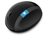 L6V-00013 Sculpt Ergonomic Mouse(BlueLED/ワイヤレスマウス/2.4GHz/USB/4ボタン/ブラック) [無線マウス・ブルーLED方式]