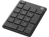 テンキー Number Pad マットブラック 23O-00002 [Bluetooth /ワイヤレス]
