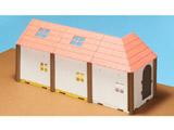 HACO ROOM ハコルーム くまのがっこう ベースパーツキット 赤い屋根キット
