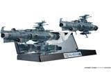 【在庫限り】 輝艦大全 1/2000 地球連邦主力戦艦 ドレッドノート級 2隻セット(宇宙戦艦ヤマト2202 愛の戦士たち)