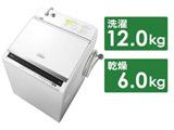 縦型洗濯乾燥機 BW-DV120E-W ホワイト [洗濯12.0kg /乾燥6.0kg /ヒーター乾燥(水冷・除湿タイプ) /上開き] 【買い替え5000pt】