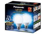 調光器非対応LED電球 「LED電球プレミア」(一般電球形・全光束810lm/昼光色相当・口金E26/2個入) LDA7D-G/Z60E/S/W/2/2T