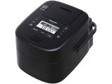 可変圧力スチームIH炊飯ジャー 「Wおどり炊き」(5.5合) SR-VSX108-K ブラック