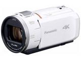 【在庫限り】 SD対応 64GBメモリー内蔵4Kビデオカメラ HC-VX1M ホワイト