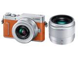 LUMIX GF10 ダブルレンズキット DC-GF10W-D オレンジ [マイクロフォーサーズ] ミラーレスカメラ