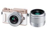 LUMIX GF10 ダブルレンズキット DC-GF10W-W ホワイト [マイクロフォーサーズ] ミラーレスカメラ