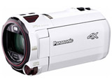 【在庫限り】 SD対応 64GBメモリー内蔵4Kビデオカメラ HC-VX990M ホワイト